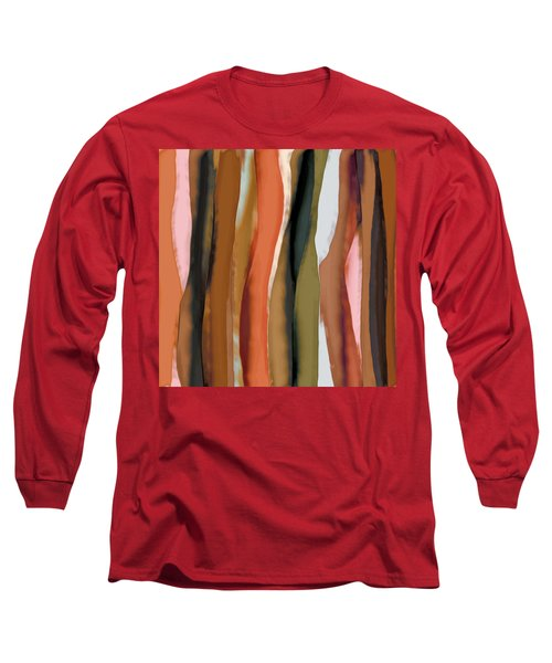 Ribbons Long Sleeve T-Shirt by Bonnie Bruno