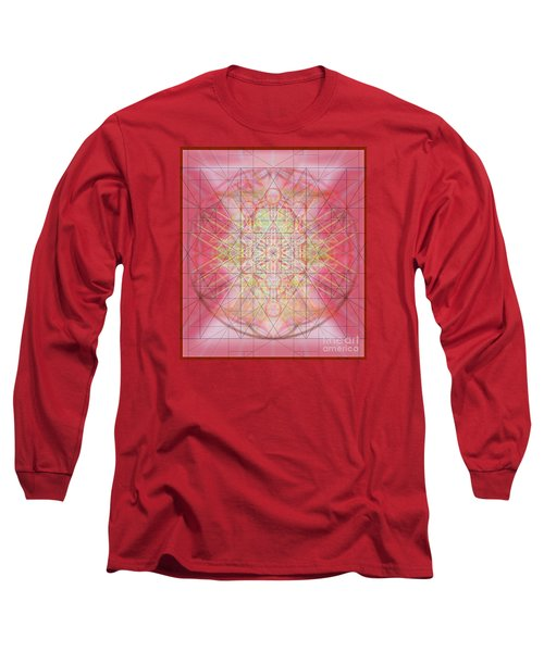 Sacred Symbols Out Of The Void 1b Long Sleeve T-Shirt by Christopher Pringer