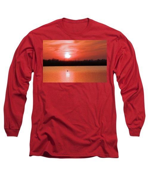 Silky Sunset Long Sleeve T-Shirt