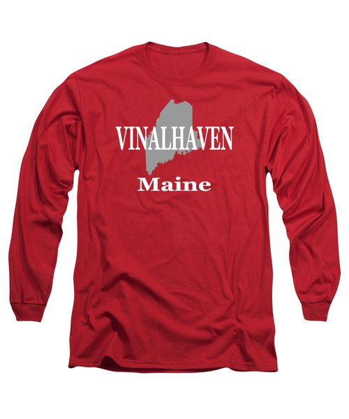Long Sleeve T-Shirt featuring the photograph Southwest Harbor Maine State City And Town Pride  by Keith Webber Jr