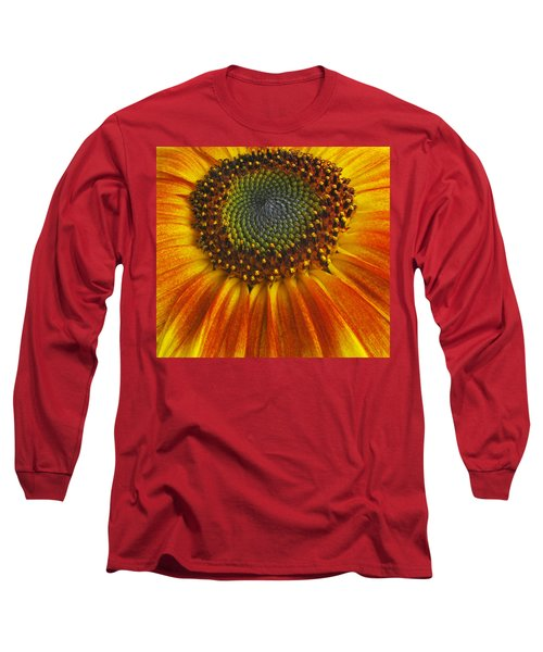 Sunflower Center Long Sleeve T-Shirt