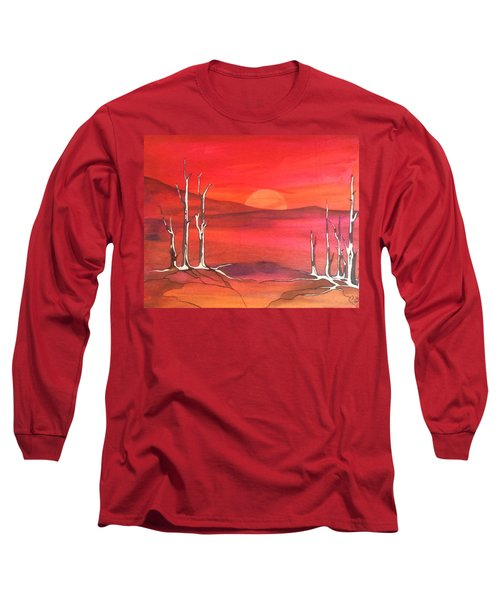 Sunrise Long Sleeve T-Shirt by Pat Purdy