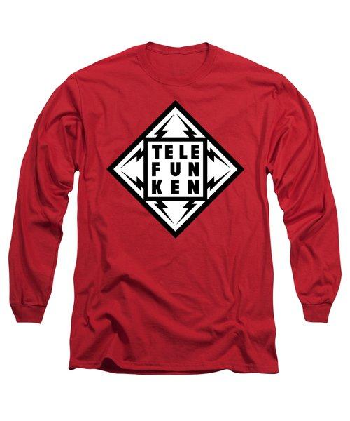 Telefunken Fantastic German Media Company Logo Long Sleeve T-Shirt