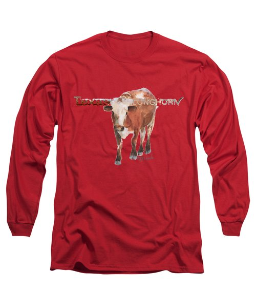 Texas Longhorn Long Sleeve T-Shirt