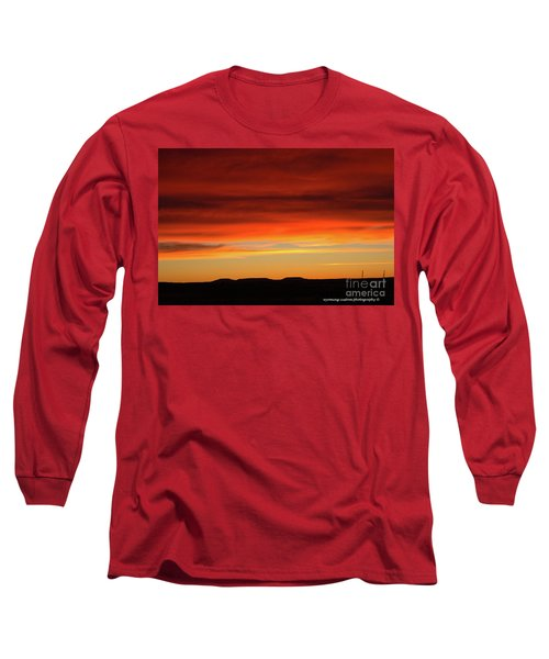 The Buttes At Sundown Long Sleeve T-Shirt