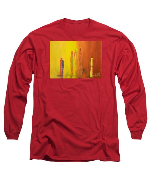 The Conversation Long Sleeve T-Shirt by Gallery Messina