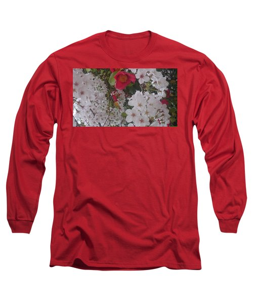 Thubaki Means Camellia Long Sleeve T-Shirt