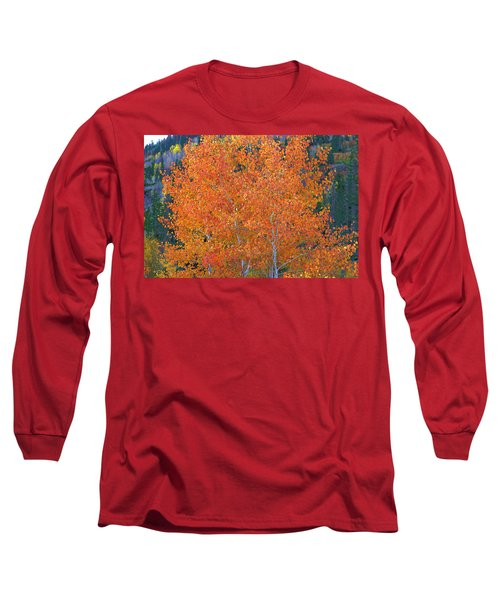 Translucent Aspen Orange Long Sleeve T-Shirt