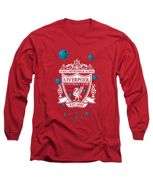 Tribute To Liverpool 4 Long Sleeve T-Shirt