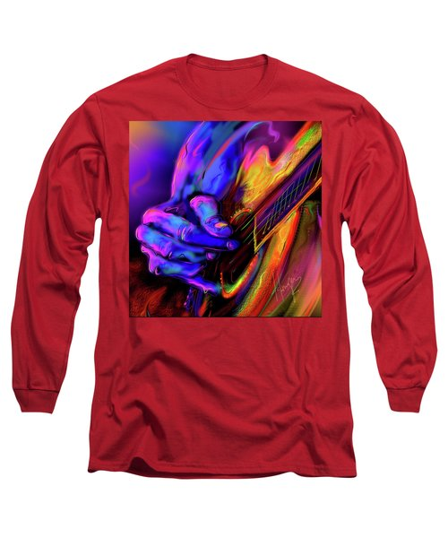 Unplugged Long Sleeve T-Shirt by DC Langer