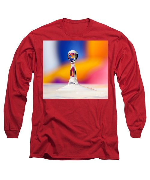 Water Drop Long Sleeve T-Shirt by Colin Rayner