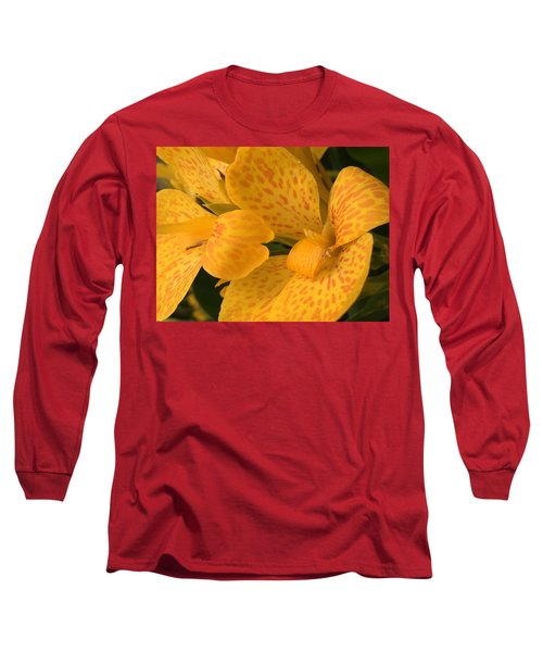 Yellow Lily Long Sleeve T-Shirt by Kay Gilley