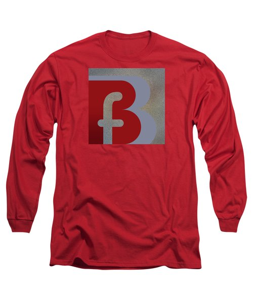 Your Name - B F Or F B Monogram Long Sleeve T-Shirt