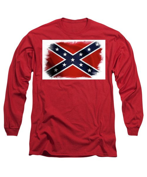 Confederate Flag 10 Long Sleeve T-Shirt