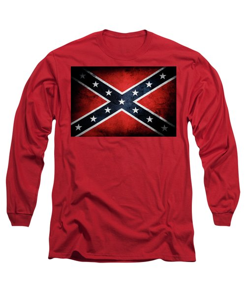 Confederate Flag 13 Long Sleeve T-Shirt