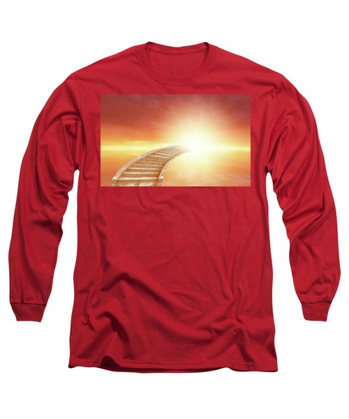 Long Sleeve T-Shirt featuring the photograph Stairway To Heaven by Les Cunliffe