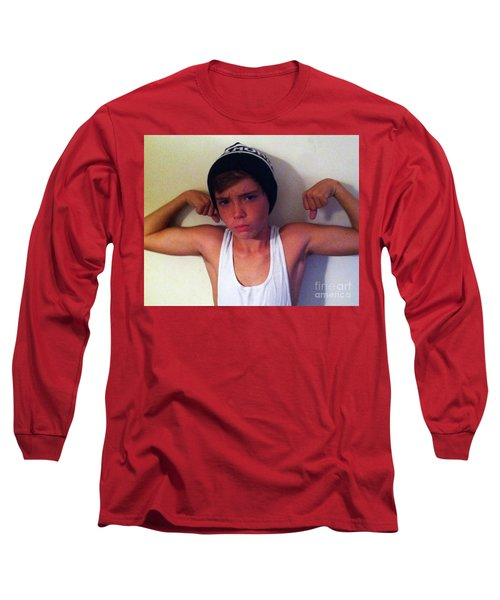 Age 14 Long Sleeve T-Shirt by WaLdEmAr BoRrErO
