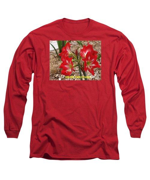 Christmas Card Long Sleeve T-Shirt by Rod Ismay