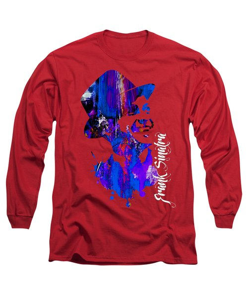 Frank Sinatra Collection Long Sleeve T-Shirt by Marvin Blaine