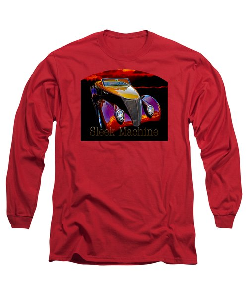 1937 Ford Custom Roadster Interior Long Sleeve T-Shirt