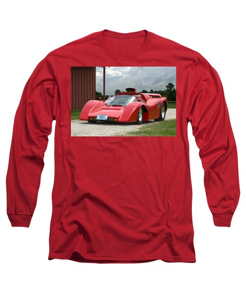 Long Sleeve T-Shirt featuring the photograph 1974 Manta Mirage With Buick 215 Cubic Inch V8 by Tim McCullough