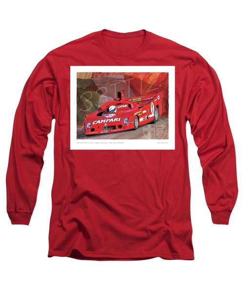 1975 Alfa Romeo 33-tt-12 Long Sleeve T-Shirt