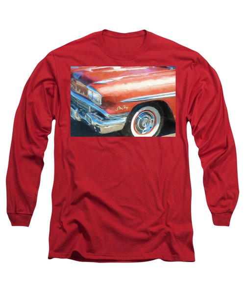 Long Sleeve T-Shirt featuring the photograph 1958 Pontiac Star Chief  by Rich Franco