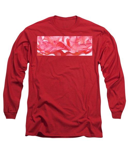 Beautiful Pink Rose Long Sleeve T-Shirt
