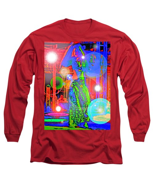 Belly Dance Long Sleeve T-Shirt by Andy Za