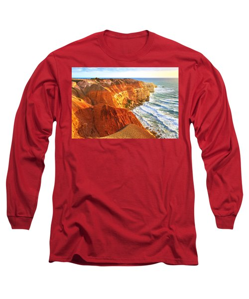 Long Sleeve T-Shirt featuring the photograph Blanche Point by Bill  Robinson