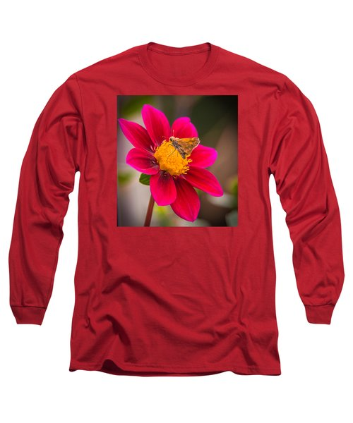Long Sleeve T-Shirt featuring the photograph Butterfly by Jerry Cahill