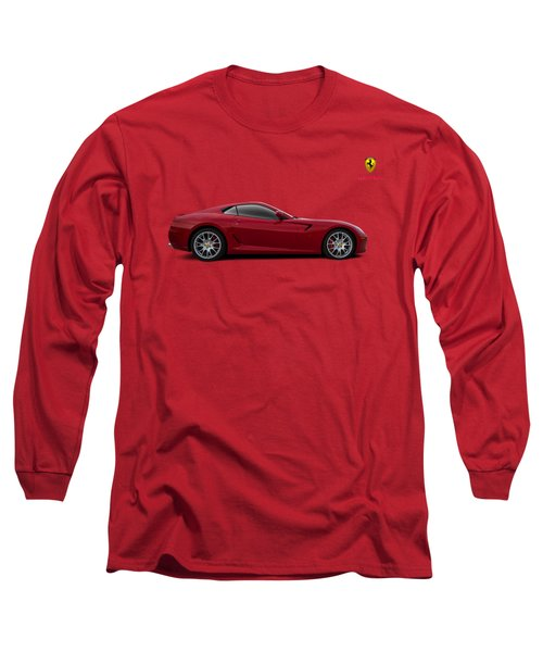 Ferrari 599 Gtb Long Sleeve T-Shirt