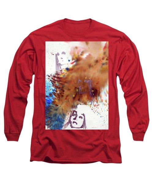 Juno Who Long Sleeve T-Shirt by Ed Heaton