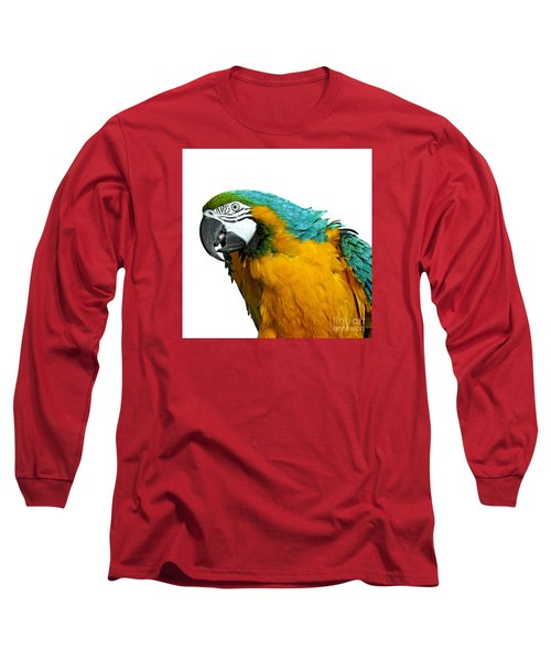 Macaw Bird Long Sleeve T-Shirt