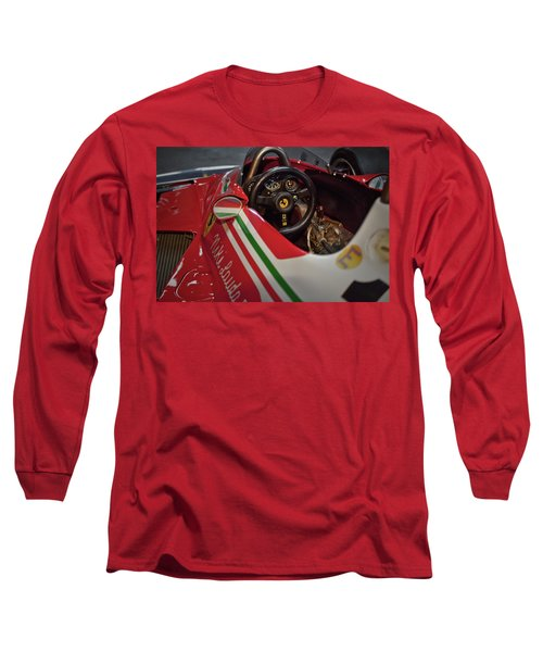 Number 11 By Niki Lauda #print Long Sleeve T-Shirt