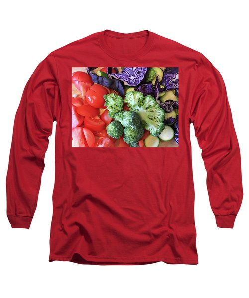 Raw Ingredients Long Sleeve T-Shirt by Tom Gowanlock