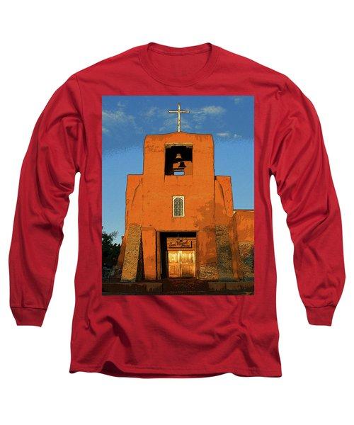 San Miguel Mission Church Long Sleeve T-Shirt