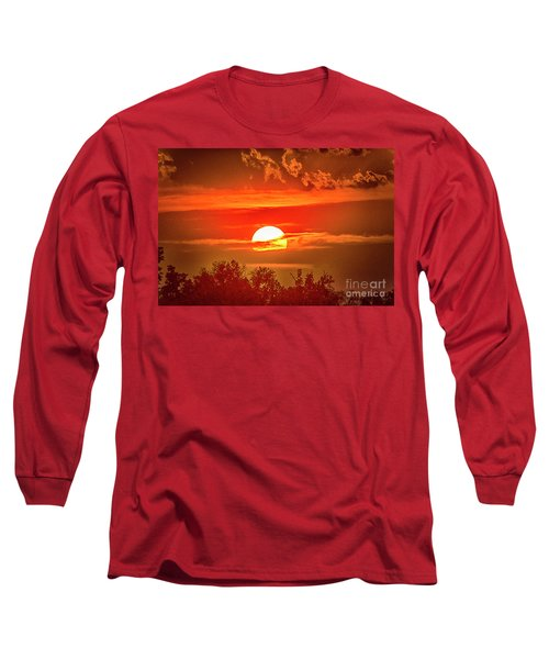 Sunset Long Sleeve T-Shirt by Pravine Chester