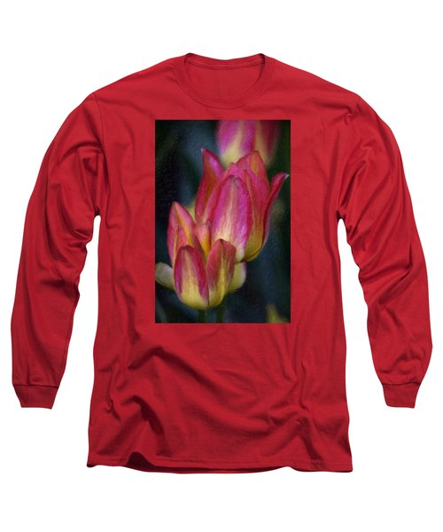 Tulips Long Sleeve T-Shirt by Andre Faubert
