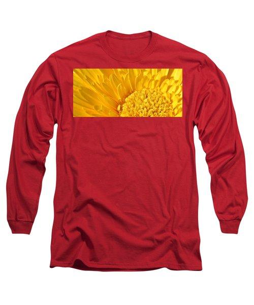 yellow Flower Long Sleeve T-Shirt by Werner Lehmann