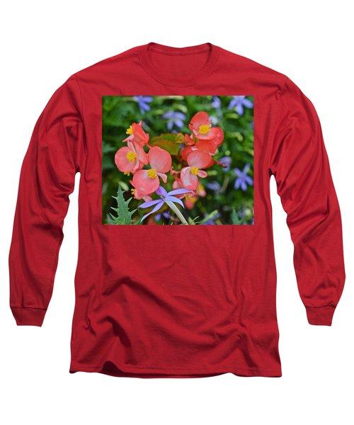 2015 Mid September At The Garden Begonias 2 Long Sleeve T-Shirt
