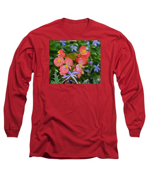 2015 Mid September At The Garden Begonias 2 Long Sleeve T-Shirt