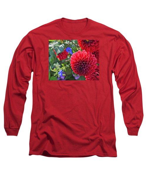 2015 Mid September At The Garden Dahlias 2 Long Sleeve T-Shirt