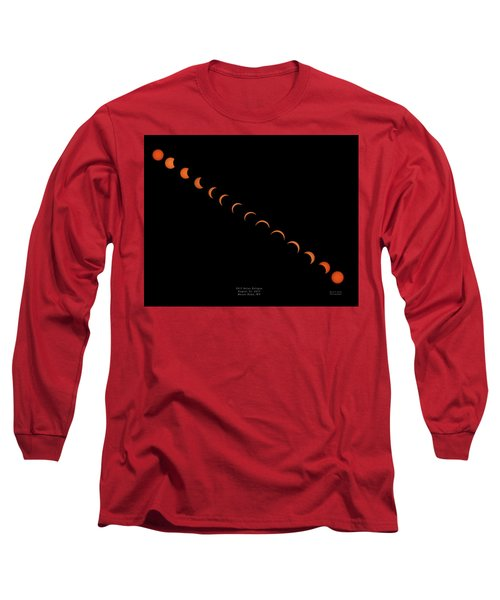 2017 Solar Eclipse Long Sleeve T-Shirt
