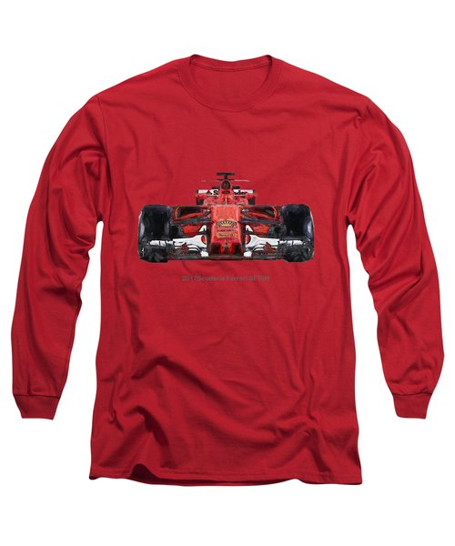 2017scuderia Ferrari Sf70h Long Sleeve T-Shirt