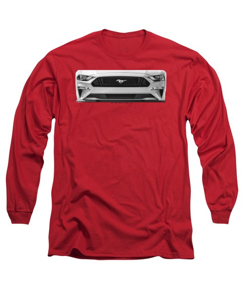2018 Mustang On A Tee Long Sleeve T-Shirt