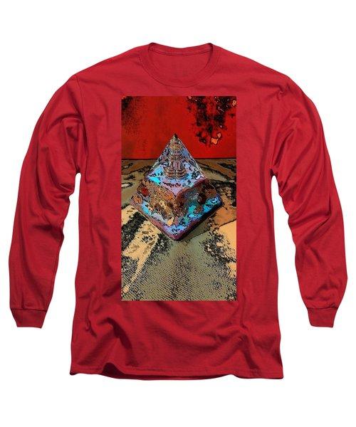 Abstract Orgone Long Sleeve T-Shirt
