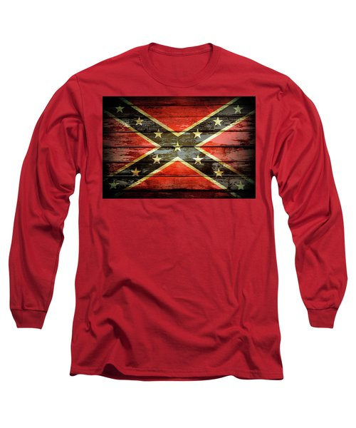 Confederate Flag 2 Long Sleeve T-Shirt