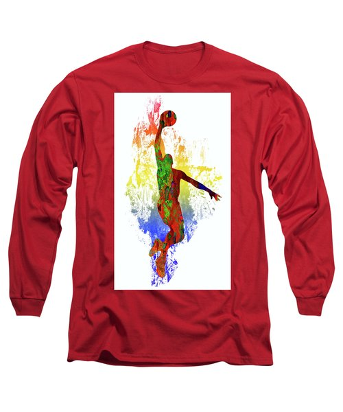 Basketball Player Long Sleeve T-Shirt