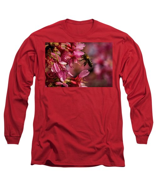 Bee Long Sleeve T-Shirt by Jay Stockhaus